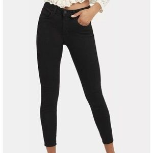 L'Agence High Rise Skinny Jeans Cropped pre-owned